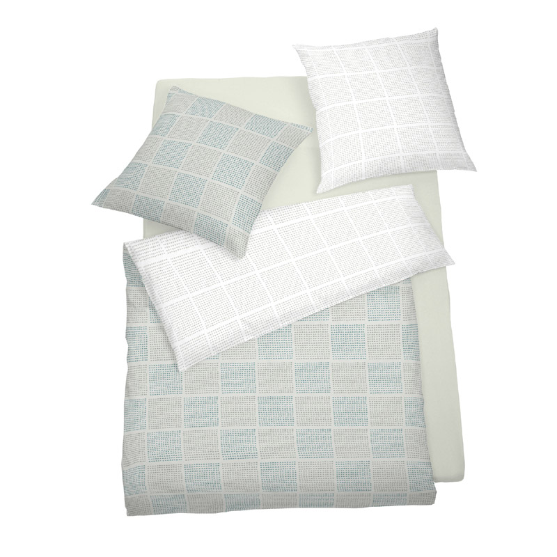 Povlečení SCHLAFGUT® Soft Touch Cotton Jersey 140x200 70x90 art. 6496-015