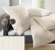 Povlečení prodloužené schlafgut® UNI Mako Saten Select 140x220 70x90 art. 7855-002x