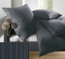 Povlečení prodloužené schlafgut® UNI Mako Saten Select 140x220 70x90 art. 7855-818x