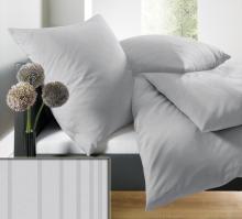 Povlečení schlafgut® UNI Mako Saten Select 200x200 2x70x90 art. 7855-836FCZ200