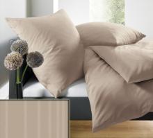Povlečení schlafgut® UNI Mako Saten Select 200x200 2x70x90 art. 7855-746FCZ200