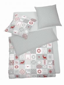 Povlečení SCHLAFGUT® Soft Touch Cotton Jersey 140x200 70x90 art. 5957-876